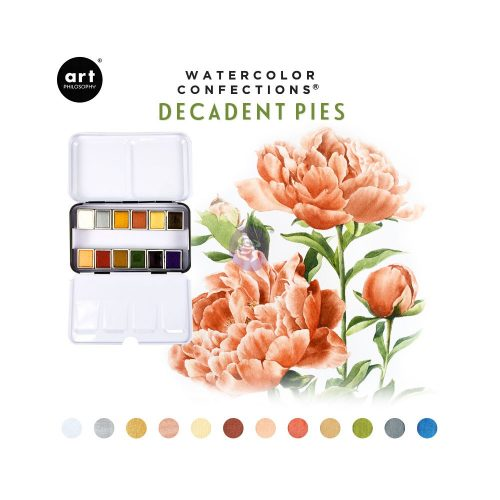 Watercolor Confections®- Decadent Pies