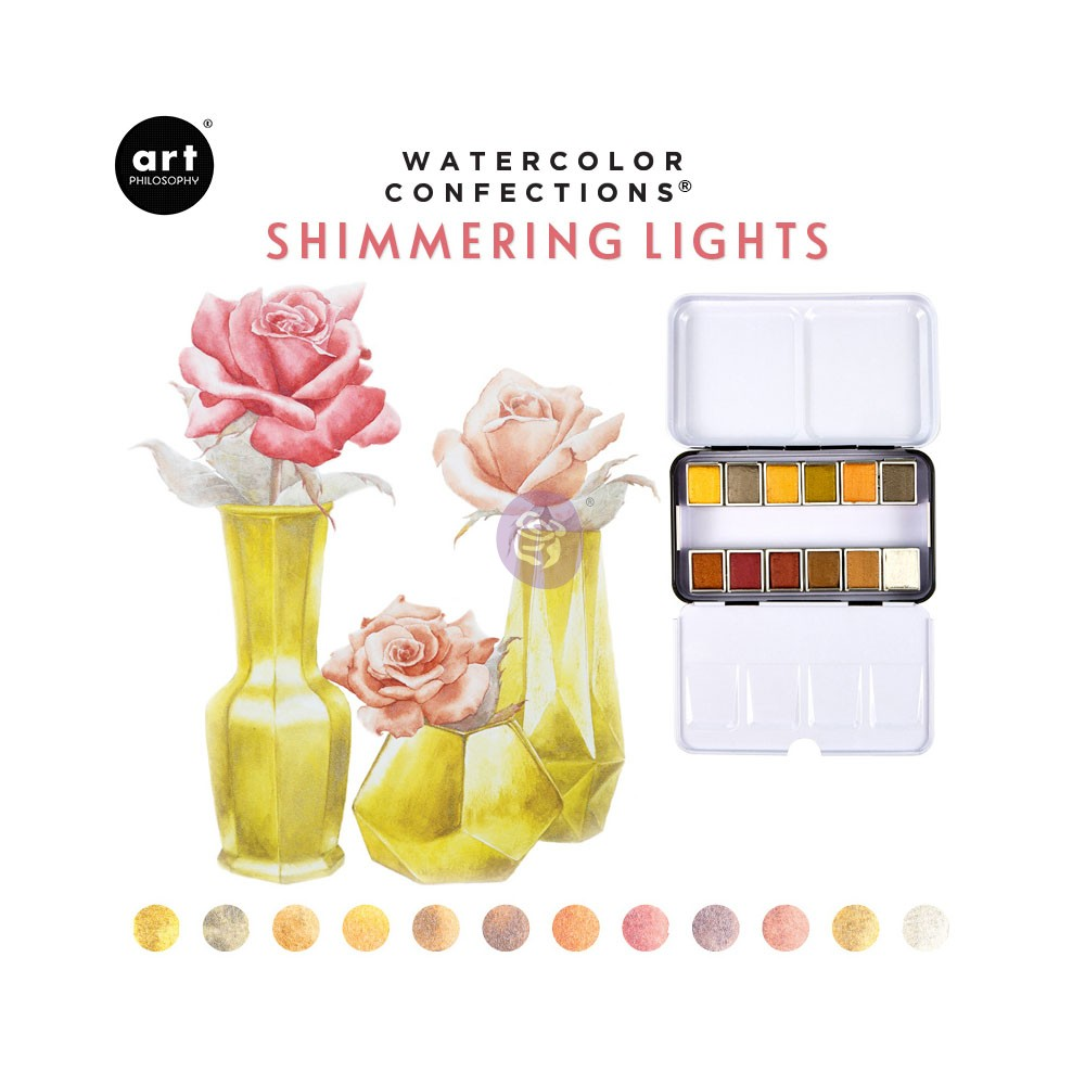 Watercolor Confections®- Shimmering Lights